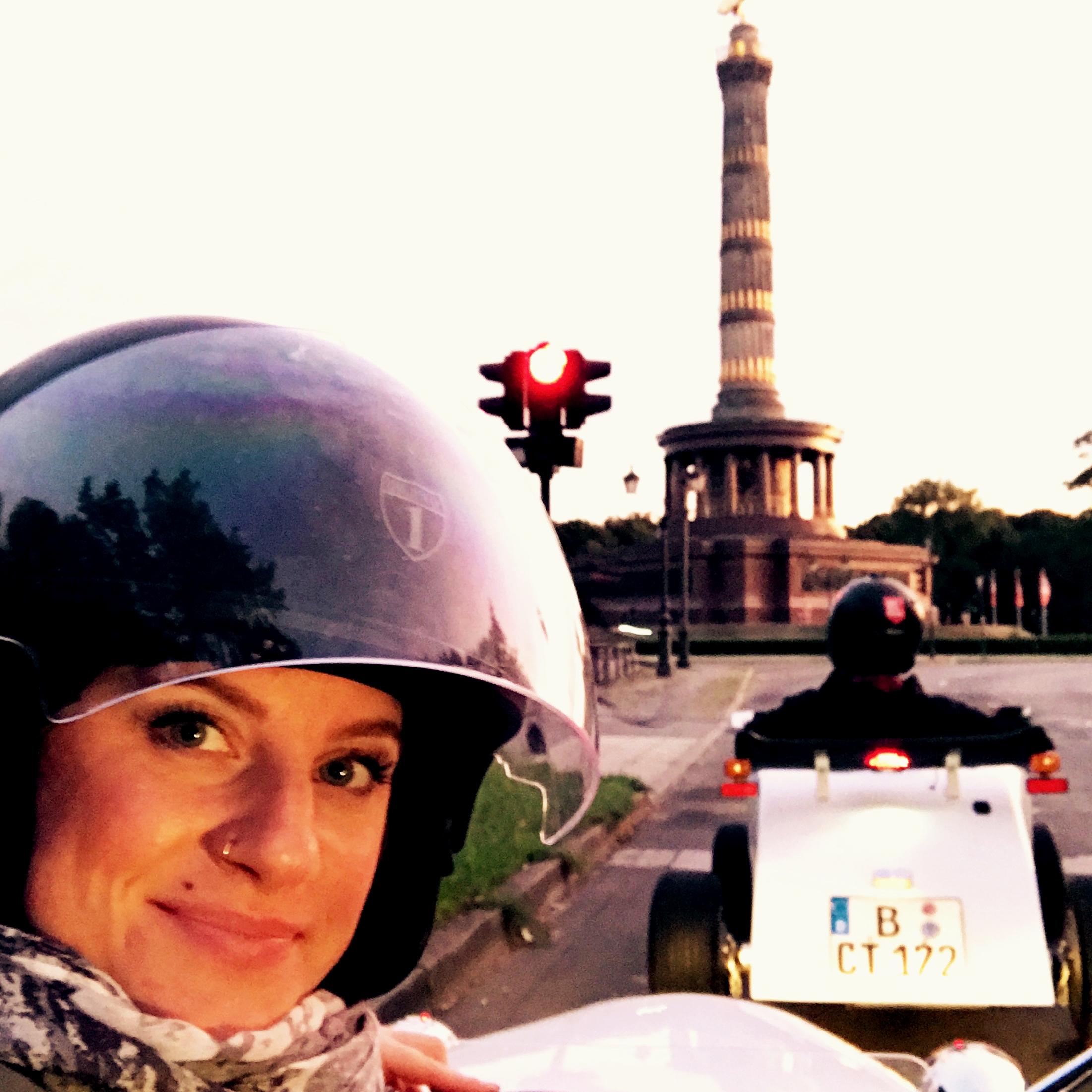 Siegessäule, Berlin, Mini Hotrod Citytour Berlin,