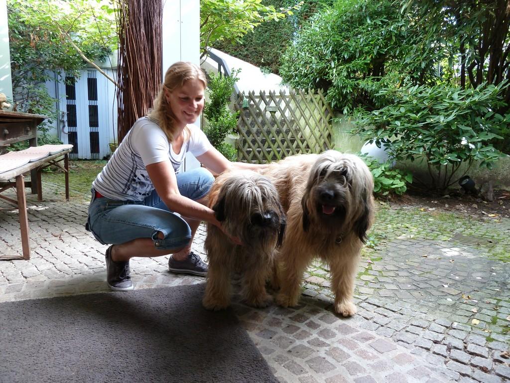 Scarlet und Ben mit Ilona 26.08.2010