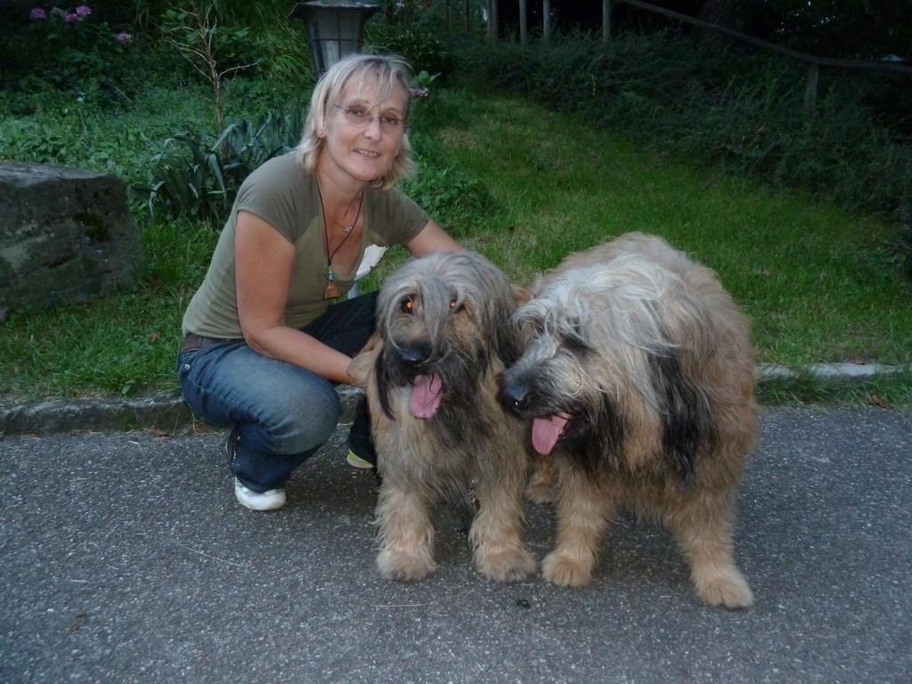 Claudia mit Ben und Scarlet 26.08.2010