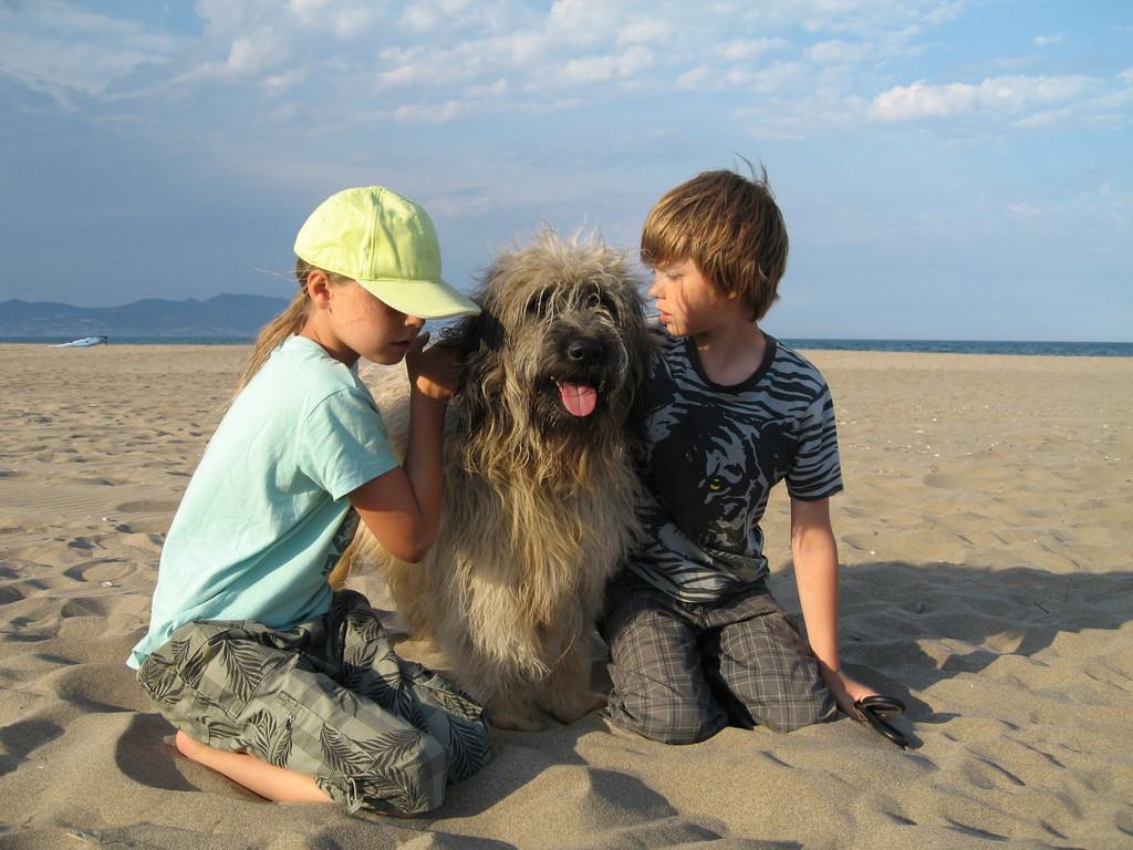 Ben mit Sina und Freund