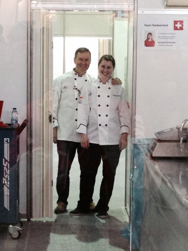 Ein eingespieltes Team. Vanessa und Martin Schnyder