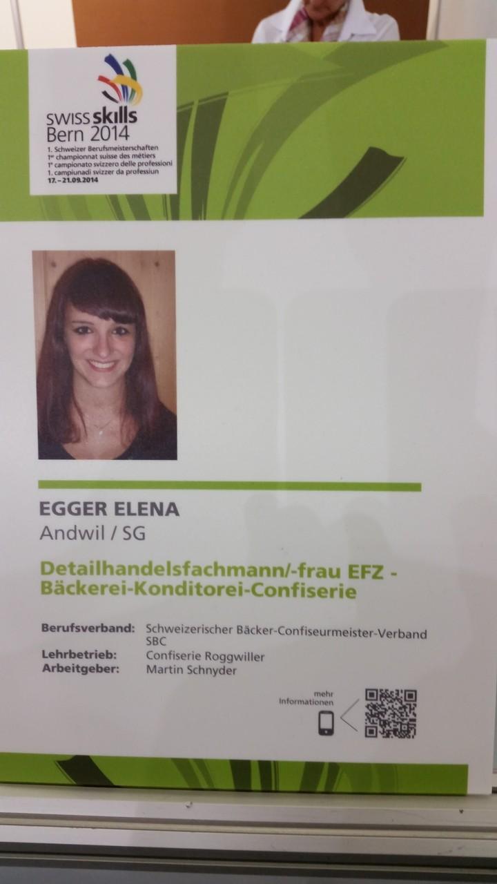 Unsere Silbermedaillengewinnerin Elena Egger