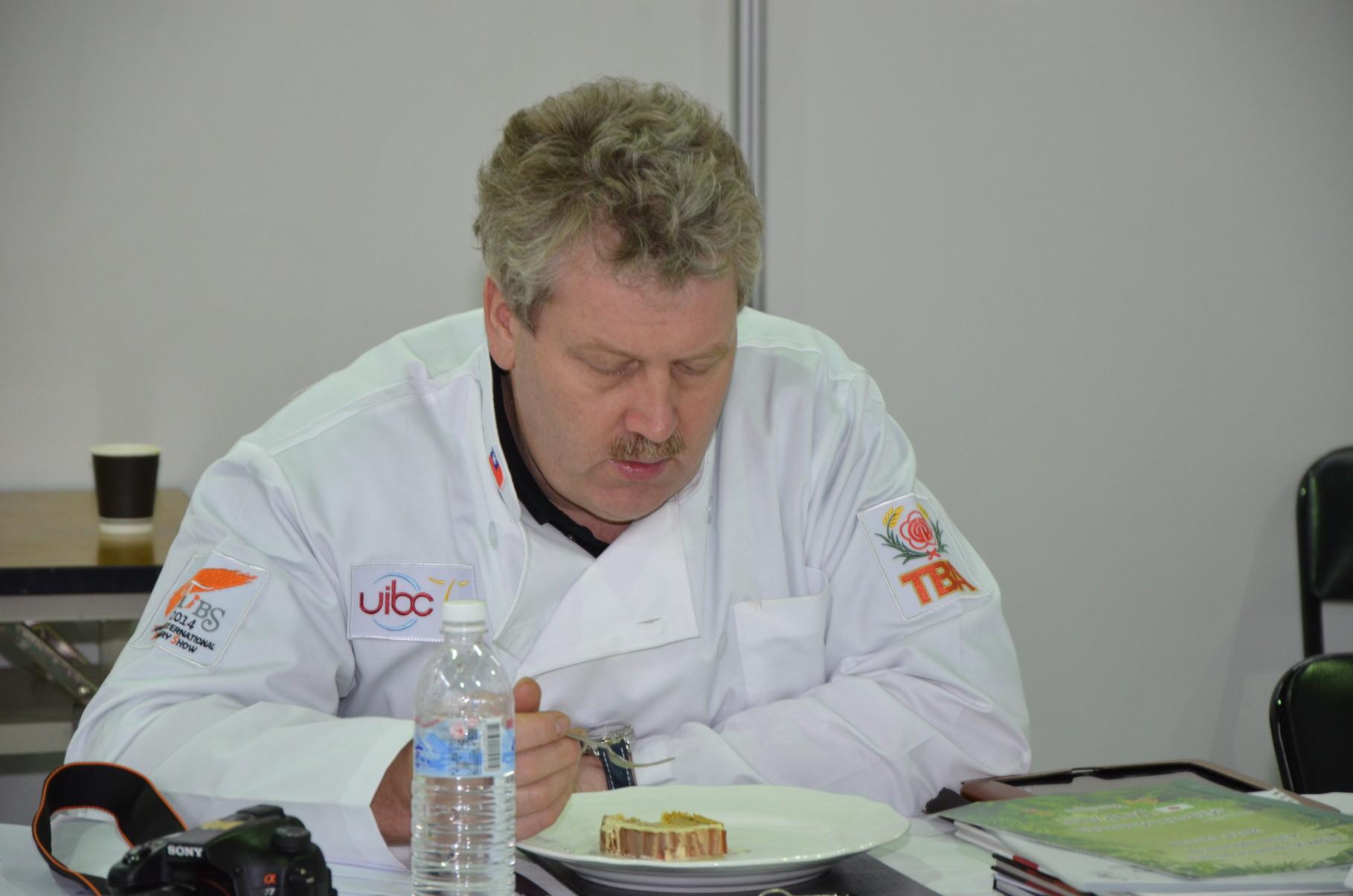 Stefan Romang das Schweizer Jury-Mitglied