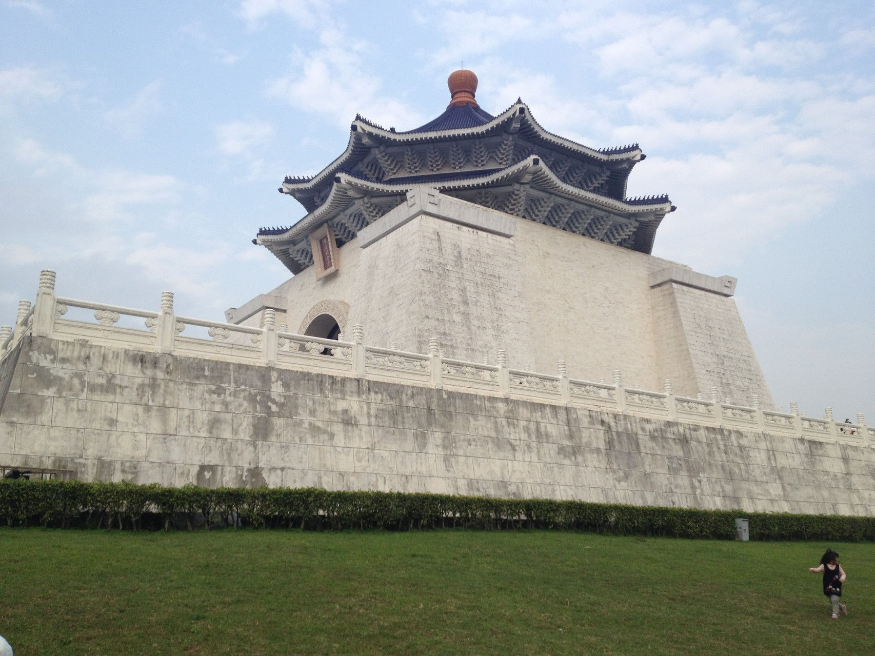 Monumentale Bauten in Taipeh
