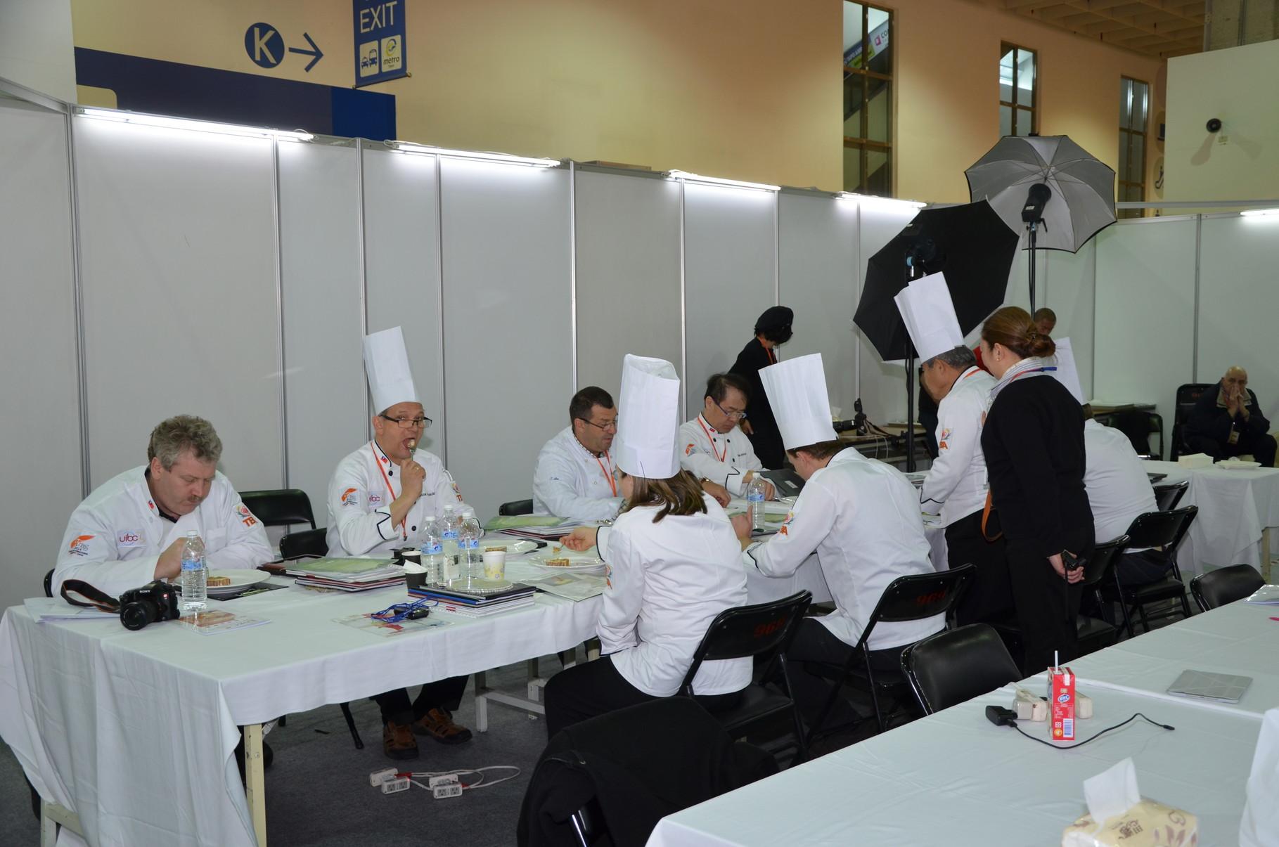 Die Jury bei der Arbeit
