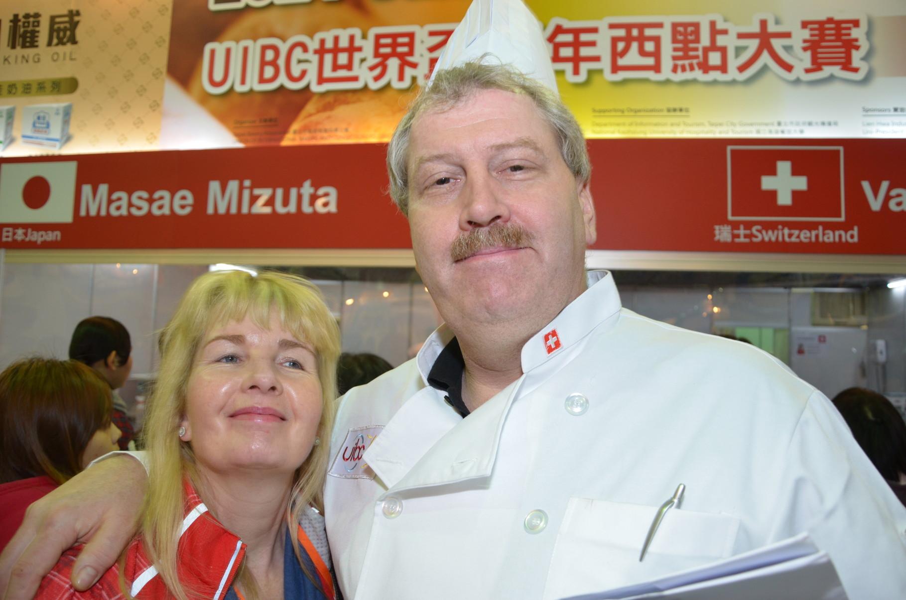 Zufriedene Gesichter Heidi und Stefan Romang!