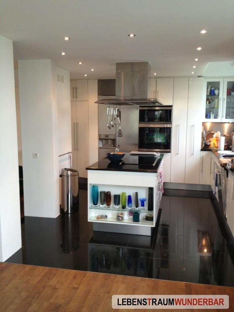 Renovierter Küchenbereich
