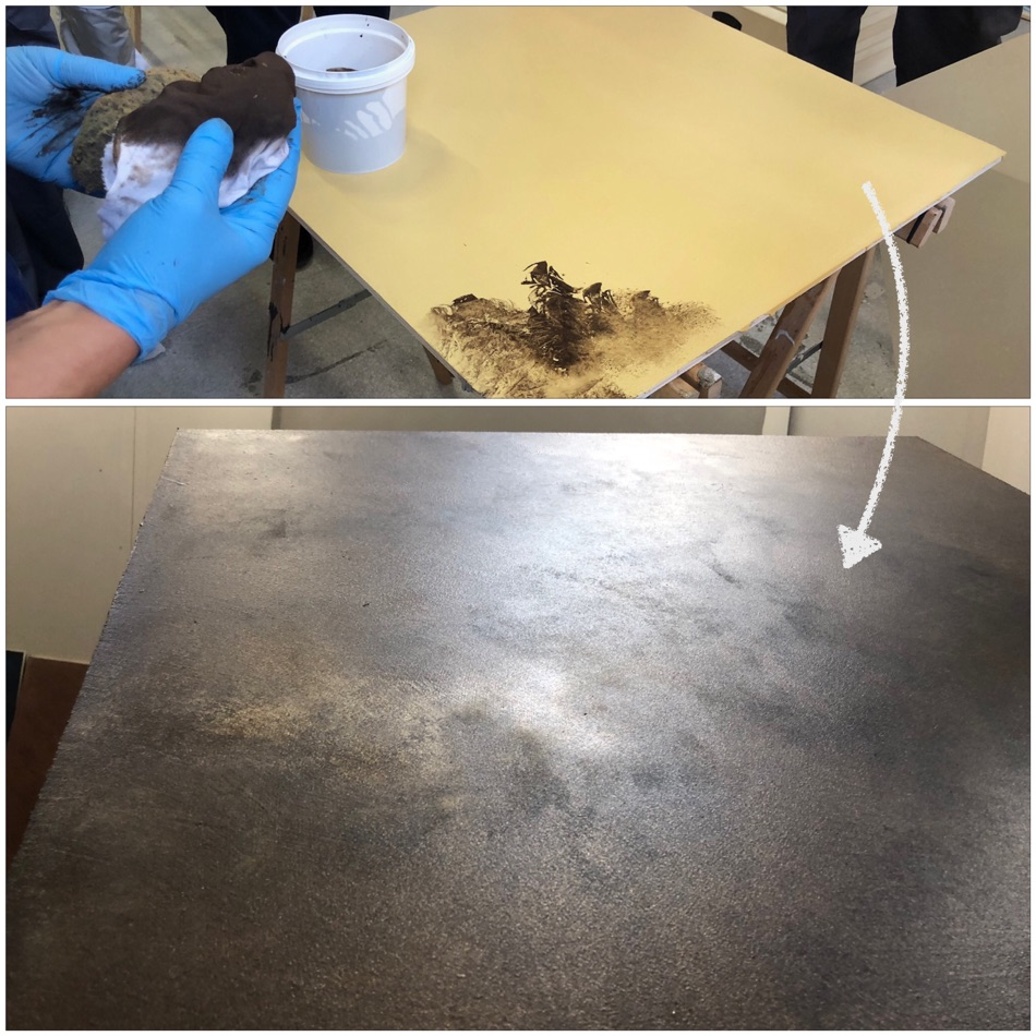 giving strong epoxy floor cement a sophisticated look