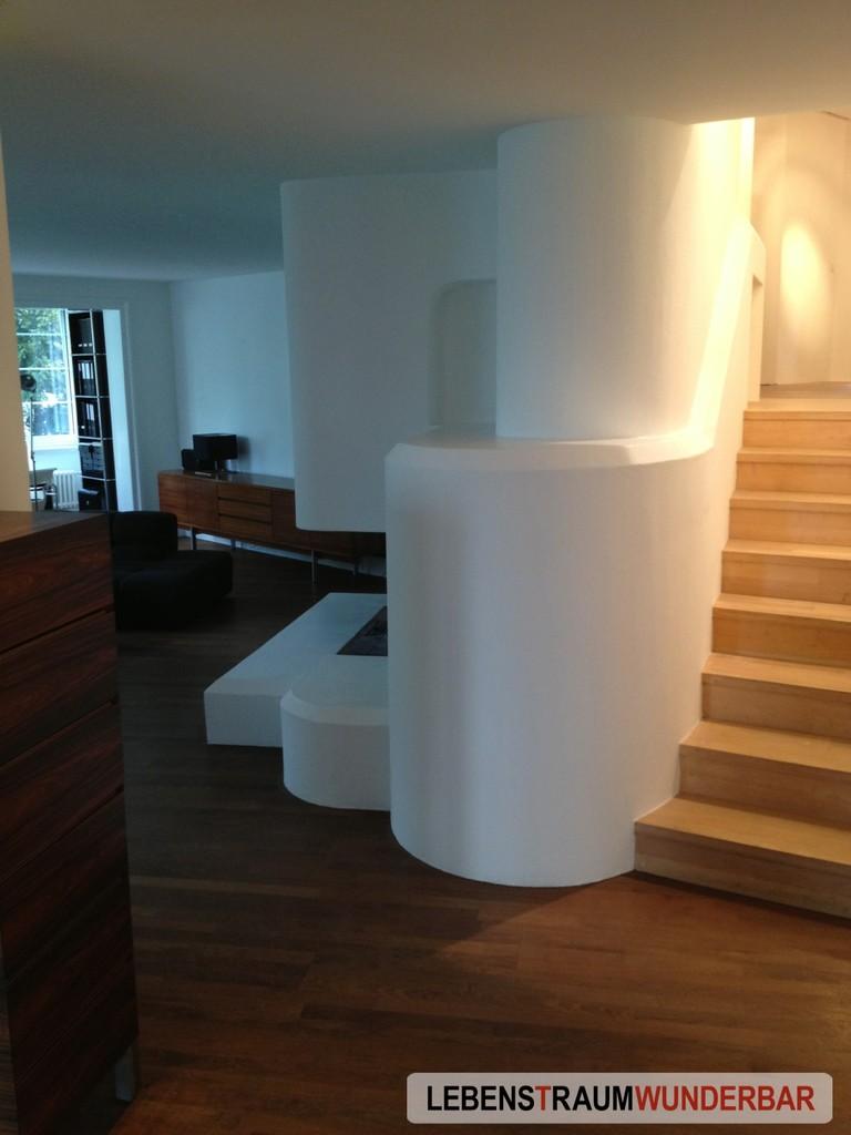 Geometrische Formen, betont mit Farrow & Ball® All White