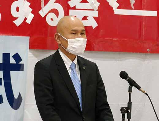 来賓代表挨拶は武久瀬戸内市長