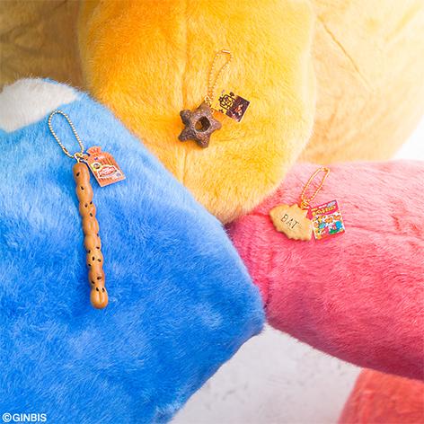 F 賞 まるでお菓子なフィギュアチャーム(全3種)約3.5~10cm