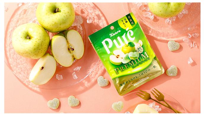 ピュレグミプレミアム 青森産王林りんご