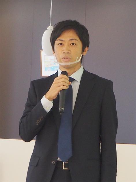 マーケティング本部商品3部・狩野氏