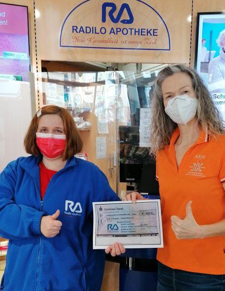 AKIK Frankfurt / Betreuungsdienst erhält großzügige Spende