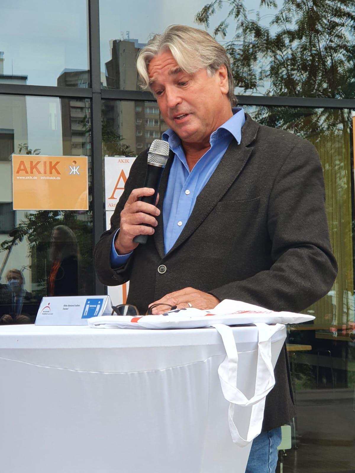 Conny von Schumann / Leiter der Notfallseelsorge Frankfurt