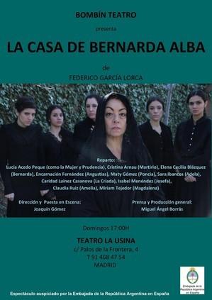 La casa de Bernarda Alba - Bombín Teatro