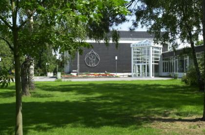 Bürgerhaus Hausen - Ansicht Haupteingang (vor dem Umbau 2007)