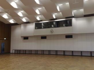Großer Saal - Rückwand