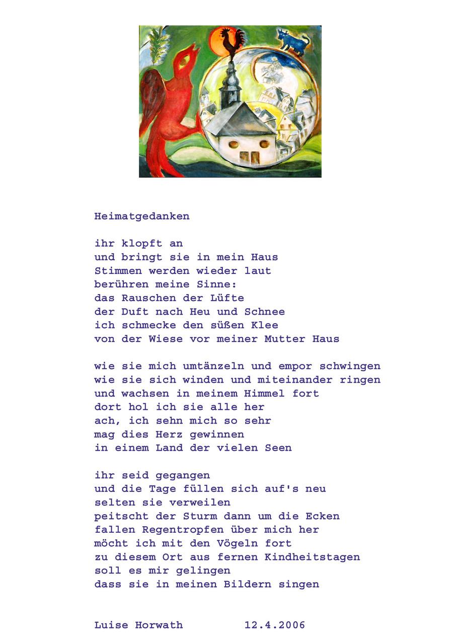 Gedicht und Bild von L.H.