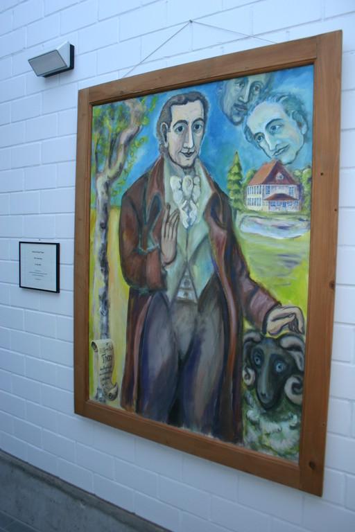 Bildnis Prof. Albrecht  Daniel Thaer / Museum Möglin