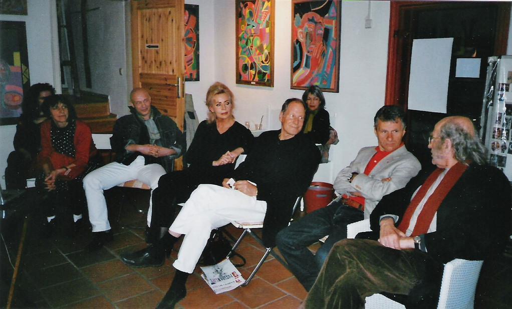 Gesprächsrunde mit Norbert Kuchinke