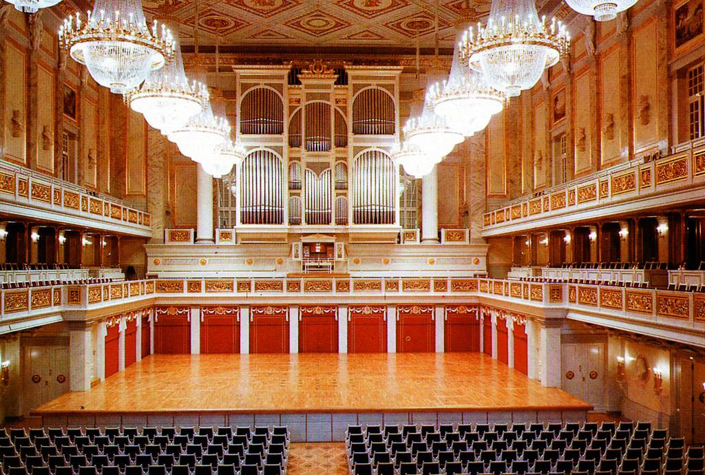 Konzerthaus Berlin / Großer Konzertsaal / Ausmalung