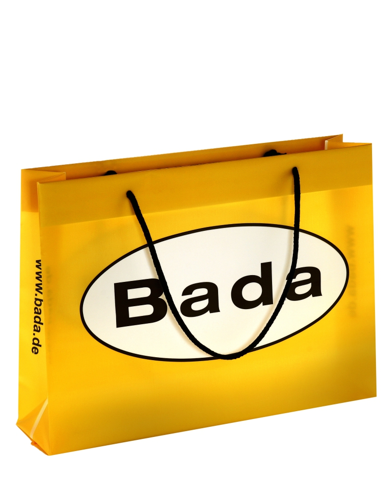 Werbetaschen aus Kunststoff mit Kordel