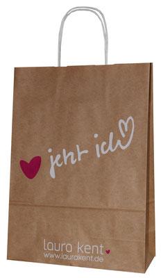 Papiertaschen mit Druck dürfen im Marketing-Mix nicht fehlen.