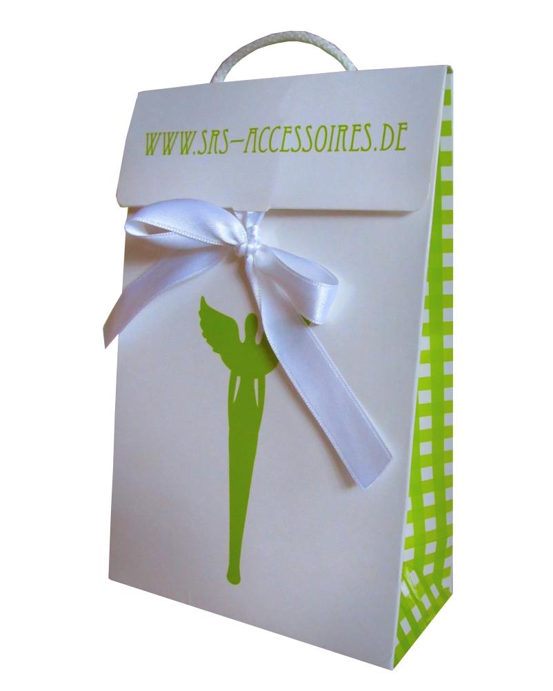 Werbetaschen mit Geschenkband bedrucken