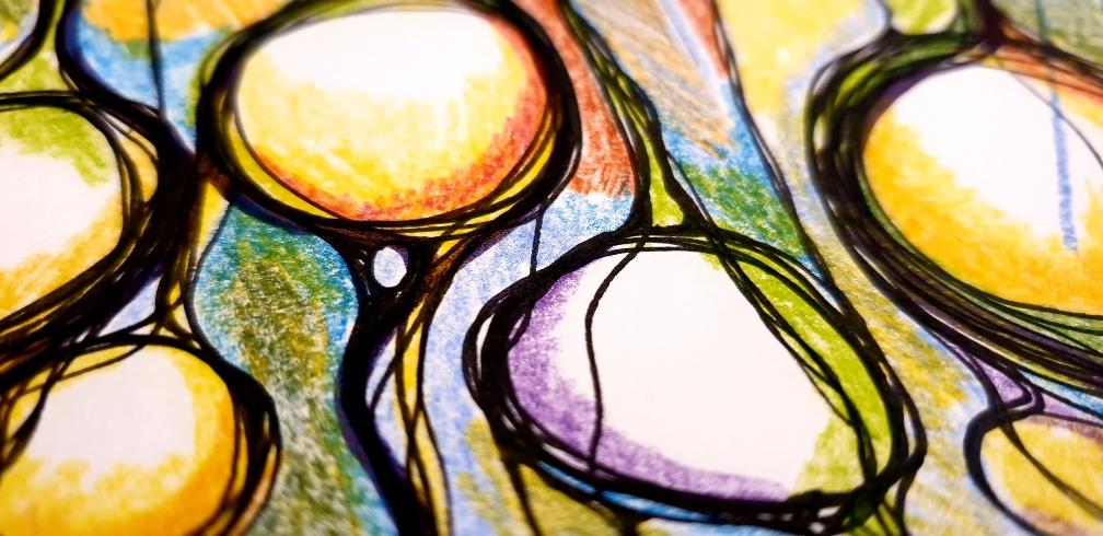 Bildausschnitt Schamanischer Regen - Wasser durchdringt den Samen