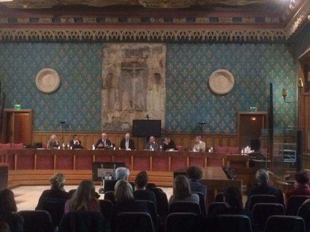 Vu d'ensemble de la salle de la Cour d'Assises de Rouen, là où Jules Durand fut précisément condamné à mort il y a 106 ans,  jour pour jour
