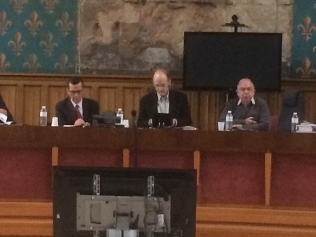Les débats étaient animés par Denis Salas, président de l'Association Française pour l'Histoire de la Justice