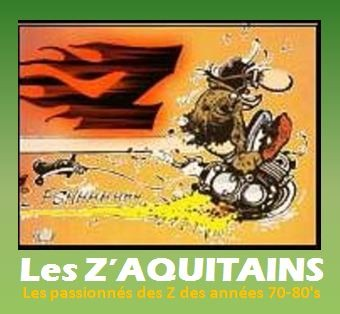 D'abord le LOGO des Z'Aquitains à l'honneur.... Merci DOMY