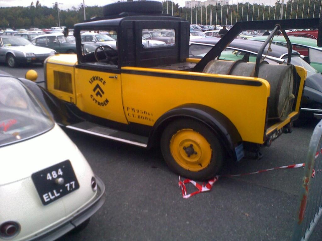 Citroën ... en dépanneuse