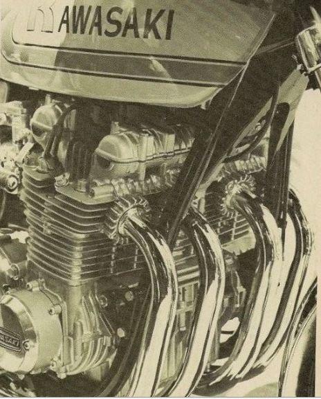 KAWASAKI V1 SILVER ENGINE