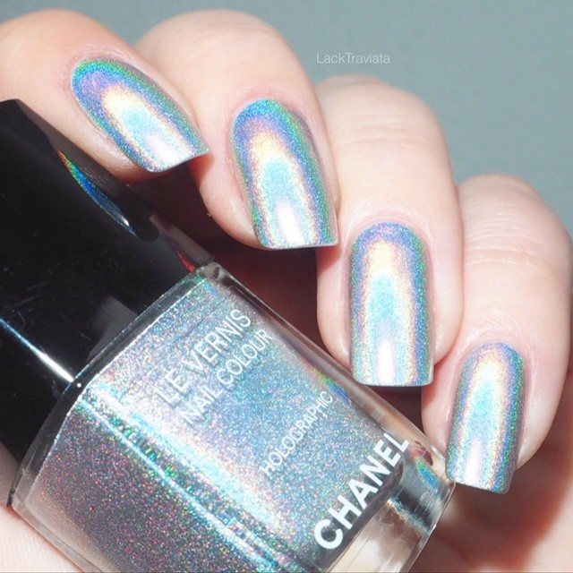 Chanel Holographic Nail Polish: CHANEL • HOLOGRAPHIC