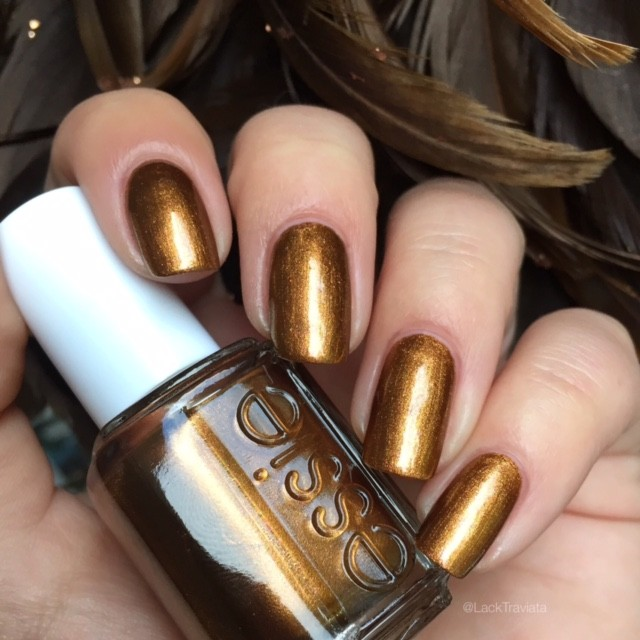 Essie Metallic Gold Nail Polish: Essie • Leggy Legend