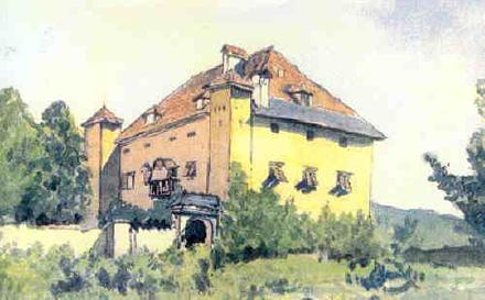 Schloss Ebenau um 1906