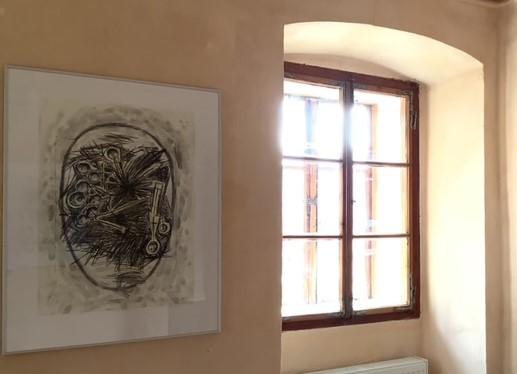 Reimo Wukounig, Klaviatur der Unruhe, Alter Pfarrhof, Galerie Walker 2021 ©beim Künstler und Galerie Walker