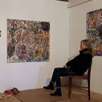 """Einblick in die Ausstellung """"Natura Animata"""" mit Karin Pliem im Schloss Ebenau, 2017 ©  Galerie Walker"""