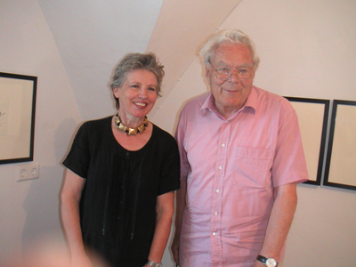 Judith Walker und Paul Flora ©Galerie Walker