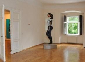 Julien Opie im Schloss Ebenau ©beim Künstler und Galerie Walker