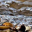 Steine am Meeresufer