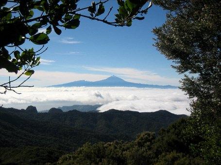 Teneriffa - von Gomera aus gesehen
