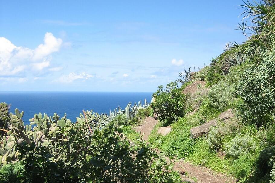 eine wunderschöne Küstenlandschaft auf Teneriffa