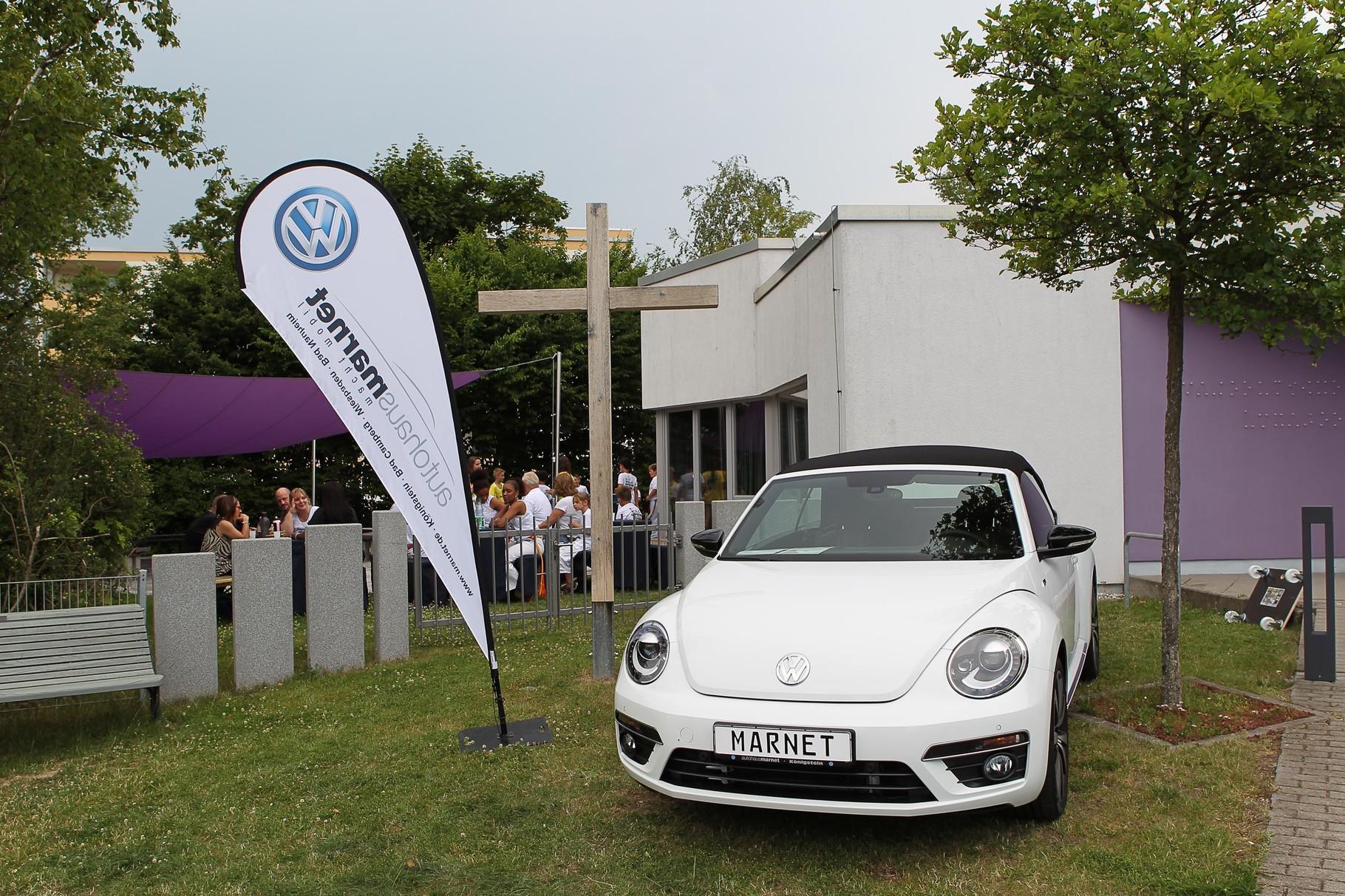 Tombola 1. Preis: Cabrio Wochenende vom Autohaus Marnet