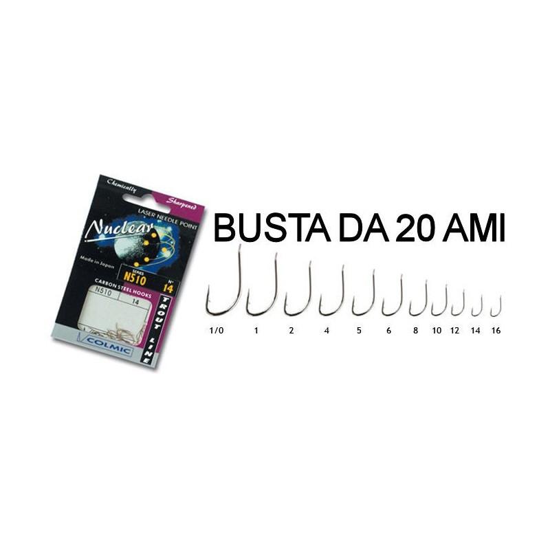 Ami da Pesca MISURA 1-1 bustina COLMIC NUCLEAR MR67
