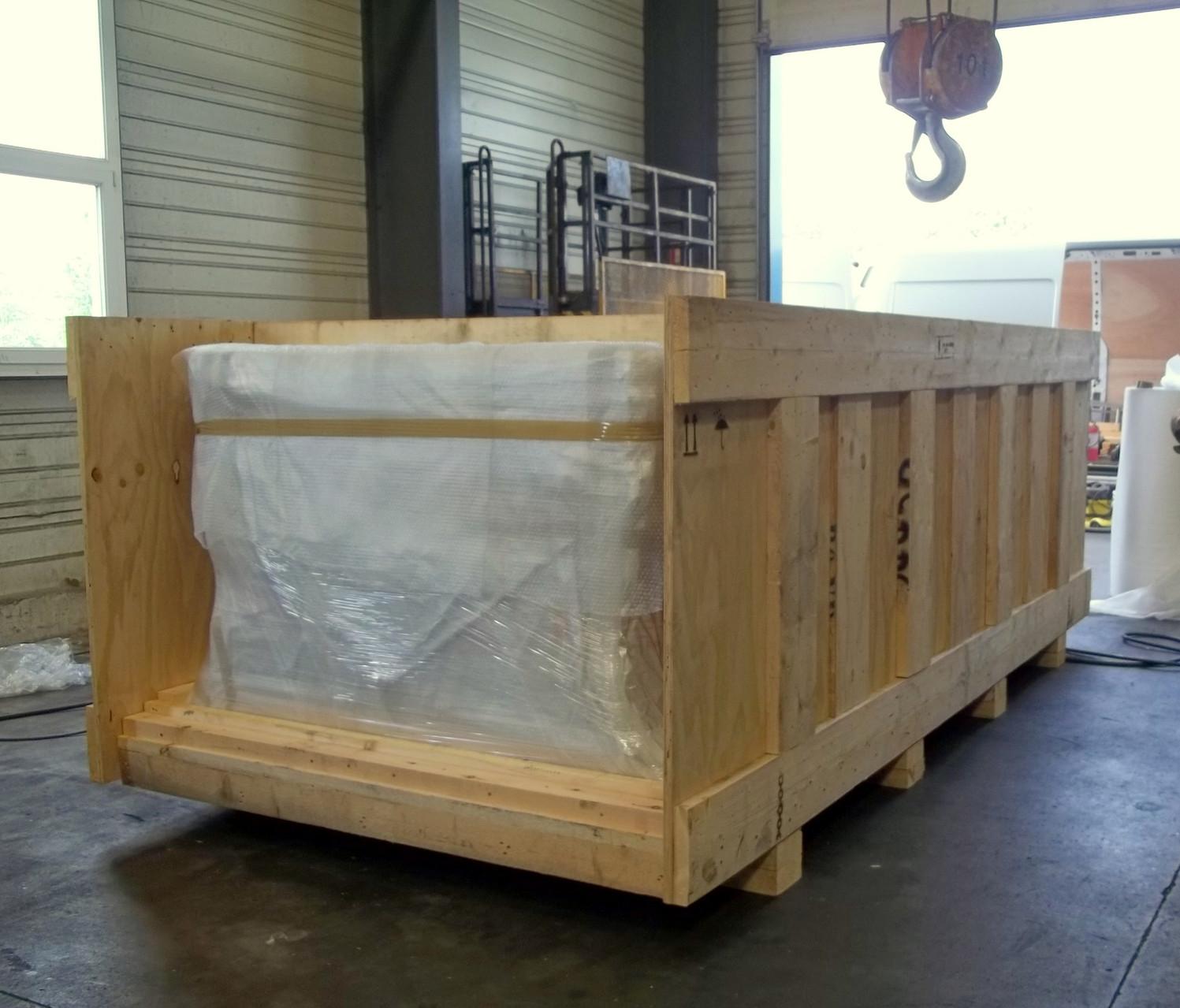 Caisse en bois traité NIMP15