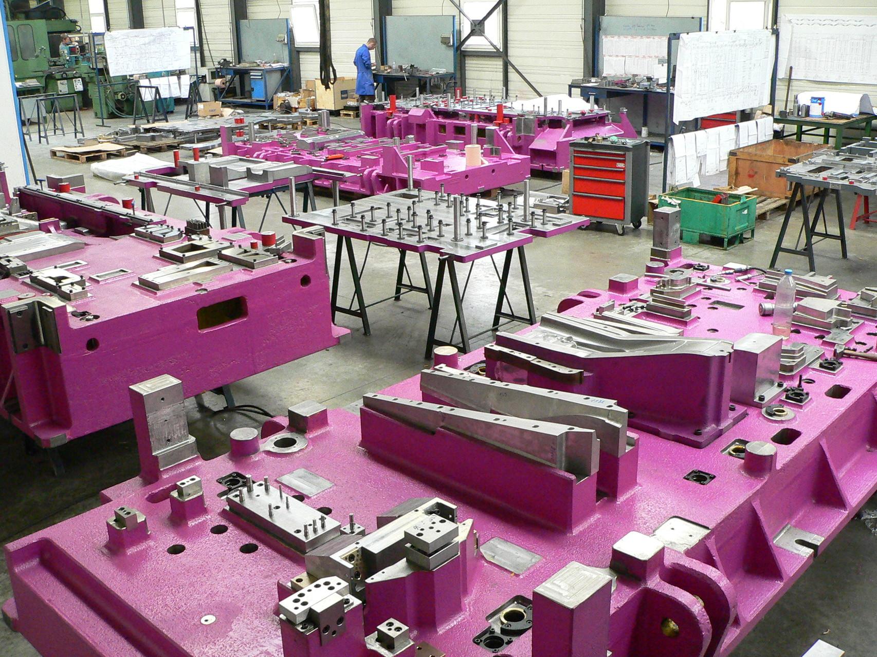Atelier de montage