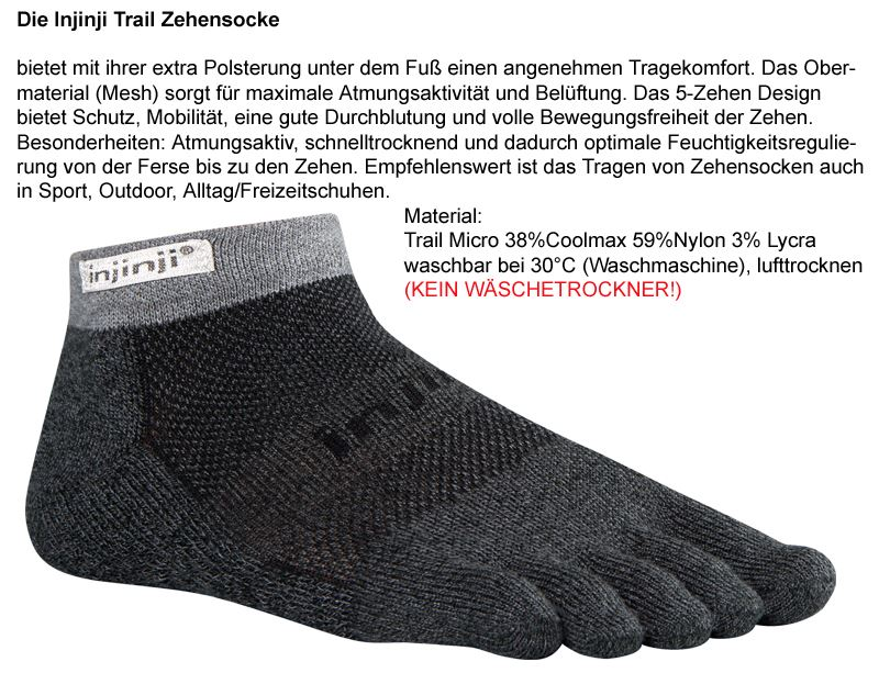Injinji TRAIL MICRO-GRANITE